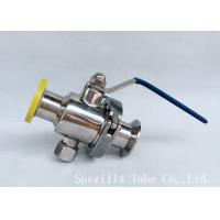 China DN25 TP316L THREADED BALL VALVE BPE VALVES SANITARY FITTINGS POLSIHED wholesale