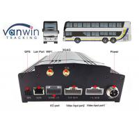 4CH 8CH built-in 3G / 4G / WIFI / G-sensor DVR security HD 1080P MDVR with SDK, Free CMS, Server Manufactures