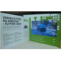 China Brochure Display Stand 10.1 inch LCD Video Booklet With Multi - Media Player wholesale
