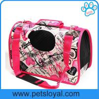 China Pet Tote Crate Pet Carrier House Kennel Travel Soft Portable HandBag Dog Carrier on sale
