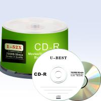 Quality Gold supplier of blank CD-R for sale