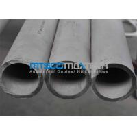 China Cold Drawn Stainless Steel Seamless Pipe Big Diameter , TP316L / 1.4404 100mm X 10mm on sale