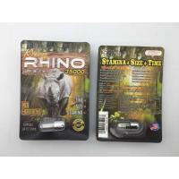 China Rhino 35000 3D Sex Power Increase Capsule Strong Effect 24 Cards Per Box For Men wholesale