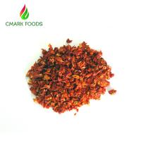 China 9x9mm Air Dried Tomatoes / Dried Cherry Tomatoes Environment  Friendly on sale