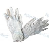 China Natural Rubber Disposable Surgical Gloves Latex Examination 18g - 24g wholesale