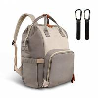 China Large Modern Trendy Mummy Diaper Bag Backpack Style With Insulated Pockets wholesale