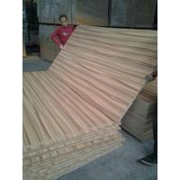 China High Glossy Melamine MDF Board Poplar Core With Wooden Grain wholesale