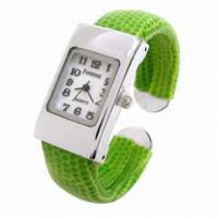 China Latest Bangle Wrist Watch for Women, Alloy Case, Japan Movement, 3ATM Waterproof, High-quality wholesale