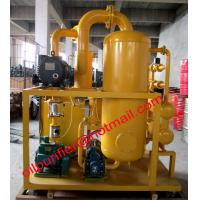 China Most popular high vacuum transformer oil purifier machine,dielectric oil cleaning process wholesale