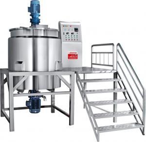 Liquid soap mixing tank