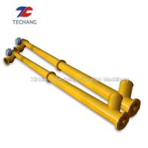 China Professional Grain Screw Conveyor , Dry Mixed Mortar Tube Screw Conveyor on sale