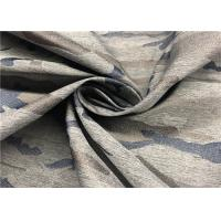 China Breathable Jacquard Polyester Spandex Fabric 138 GSM Weight 57 / 58 '' Width wholesale