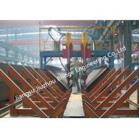 Quality Heavy H Project Structural Steel Construction With Submerged Arc Welding Process for sale