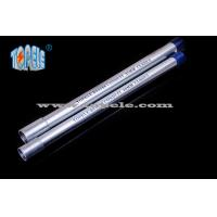 China Galvanized Steel BS4568 Conduit / BS4568 TUBE / GI PIPE With Protection Cap wholesale