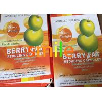 China Fat Loss Most Effective Diet Pills ,  Berry Fat Reducing Herbal Slimming Capsules wholesale