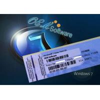 China Fast Delivery Windows 7 Pro Oem Key , Windows 7 Home Premium Key Code on sale