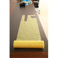 China Smooth Surface Disposable Aprons On A Roll / Plastic Throw Away Aprons wholesale