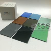 China Tempered Glass Panel price 4mm 5mm 6mm 8mm 10mm 12mm Bronze Blue Gray Green Dark Light wholesale
