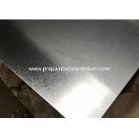 China Minimal Spangle Aluzinc Coated Steel For Vending Machines And Barns 30-1500 mm Width wholesale
