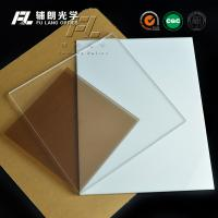 China Milky White Acrylic Sheet 5mm Thick , Heat Resistant Plexiglass Sheets Durable wholesale
