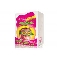 China Juicy Peach Whitening Facial Mud Mask Smooth Anti - Wrinkle Mud Facial Masks For Adult wholesale