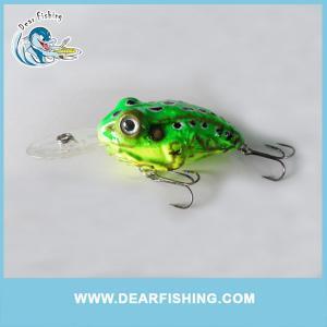 China 2016 Wholesale fishing lure hard frog lure hard plastic fishing lure frog on sale