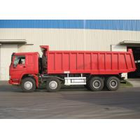 Buy cheap 8 X 4 HOWO Sinotruk Heavy Duty Dump Truck With 6800x2300x1500 Box Size from wholesalers