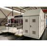 China Corrugated Carton Box Fully Automatic Vacuum Adsoption Doctor Blade Flexo Printer Slotter Machine wholesale