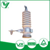 China 9KV White Color Gapless Lightning Protector With Porcelain Housed wholesale