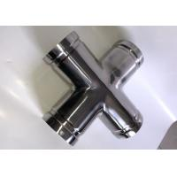 China 304 316 Stainless Steel Grooved Pipe Coupling Cross Tee Pipe Fitting For Shipping wholesale