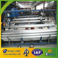China BS1387-1985 ASTMA53 hot dipped galvanized steel pipe for structure wholesale