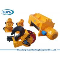 China Heavy Duty Electric Wire Rope Hoist 20T 25T 50T Capacity Fixed / Movable Type Bases on sale