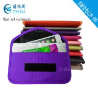 China Pregnant RFID Travel Bags Cell Phone Signal Blocker Pouch For Mobile Phones wholesale