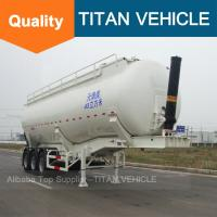 China TITAN Cement trailer banana type , Cement Trailer Self Loading,Tipping Cement Bulker Trailer on sale