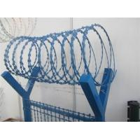 China Various BTO CBT Types Razor Barbed Wire With Single / Cross Coil wholesale