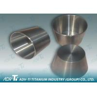 Quality Customized 99.9% Pure Titanium Precision Parts GR1 Crucible Good Corrosion for sale