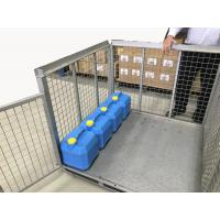 China Metal Box IBC Metal Cage Steel Storage Container Ibc Steel Pallet Cage wholesale