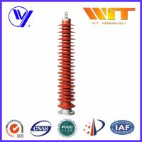 China 132KV High Voltage Substation Surge Arresters , Polymeric Lightning Protector wholesale