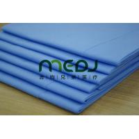 China Environmental Medical Paper Roll , Blue Customized Paper Bed Sheet Roll wholesale