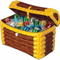 China 24*17 Inch Inflatable Drinks Cooler Treasure Box 0.25mm Thickness Material wholesale