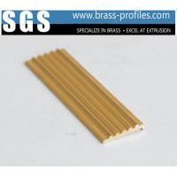 China Brass Anti-slip Strip For Stair Copper Extruding Flooring Sheet wholesale