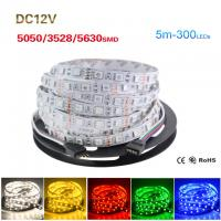 China 5M Roll 5050 5630 3528 SMD ip65/non waterproof Flexible LED Strip Light wholesale
