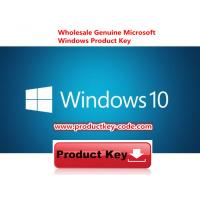 China Microsoft Windows 10 Product Key Codes Download Online Activate Key 32 64bit wholesale