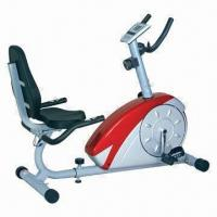 China Magnetic Rebumbent Bike with Time, Speed and Pulse Display wholesale