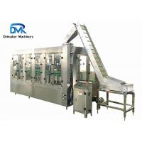 China Stainless Steel Milk Glass Bottle Packing Machine 3000-4000 Bottles Per Hour wholesale