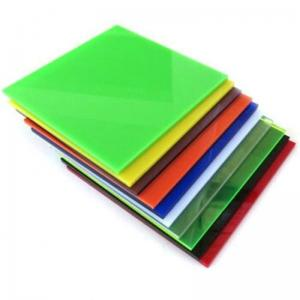 China 3mm Around 600mmx300mm Grey Lime Green PMMA Sheets Colored Cast Acrylic Sheet wholesale