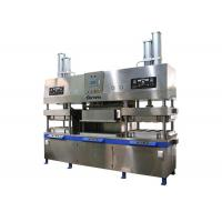 China Semi Automatic Paper Pulp Molded Paper Plate Making Machine for Food Container 700 Pcs / Hour wholesale