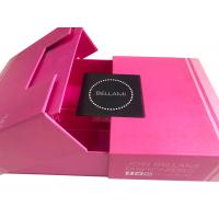 Quality Premium Luxury Magnetic Hair Extension Packaging Box CE FSC Approval for sale
