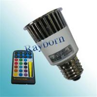 China LED light bulb with Remote Control,color changing led light bulb wholesale