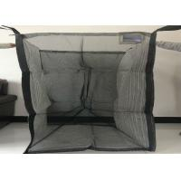 China Full Open Top Ventilated Big Bag With Flat Bottom Custom Size / Color wholesale